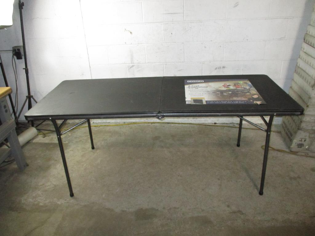 Cosco 6 Foot Centerfold Table Property Room