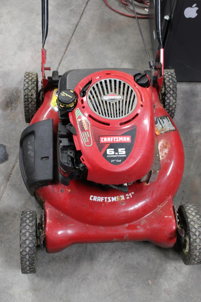Craftsman 6 5 Horsepower 21 Quot Cut Lawn Mower Property Room