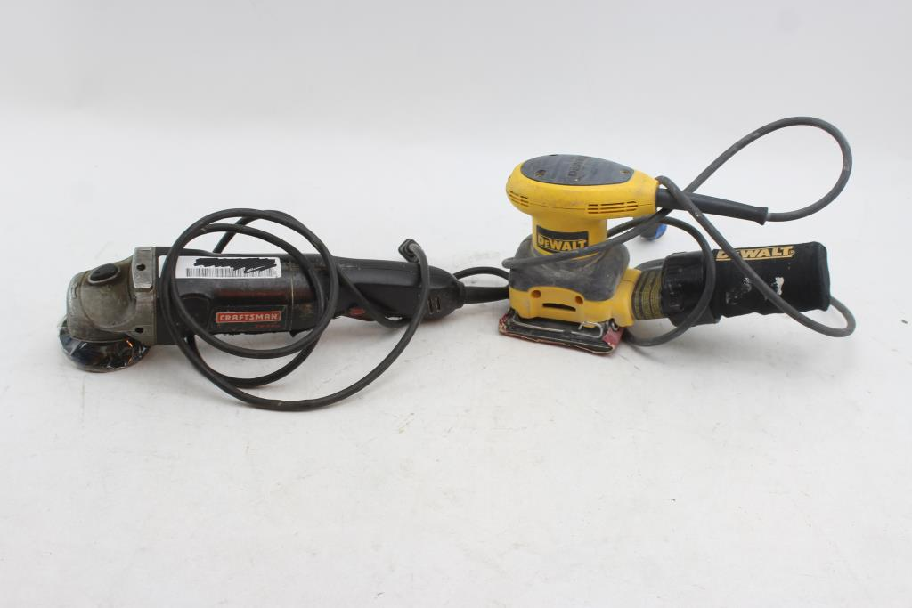 Pleasing Craftsman Angle Grinder 900 11651 And Dewalt D26441 Palm Ibusinesslaw Wood Chair Design Ideas Ibusinesslaworg