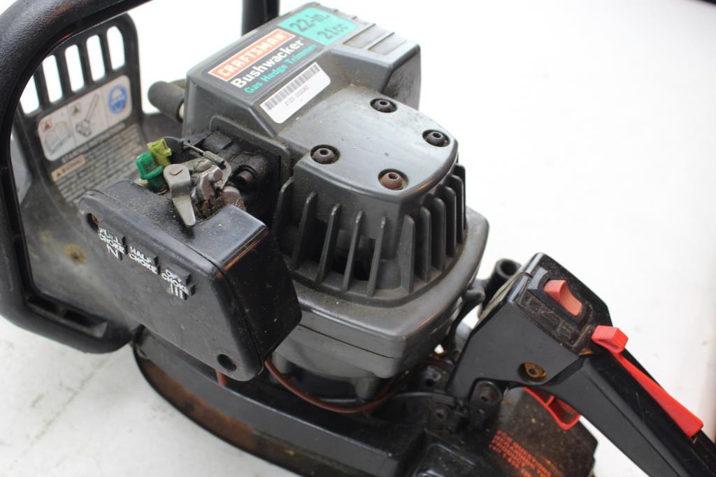 Craftsman Bushwacker Gas Hedge Trimmer 358795660