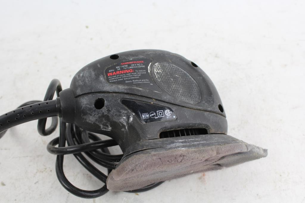 craftsman mouse sander polisher property room rh propertyroom com Craftsman Repair Manual Craftsman Snow Blower Parts Manuals