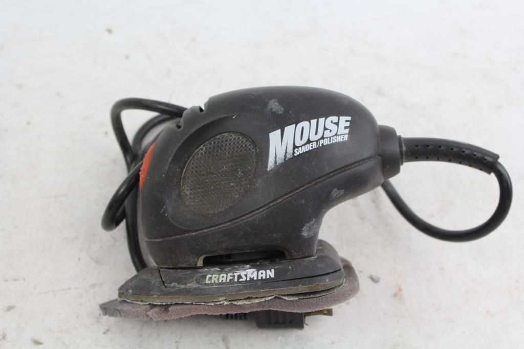 craftsman mouse sander polisher property room rh propertyroom com Craftsman Snow Blower Parts Manuals Craftsman Repair Manual