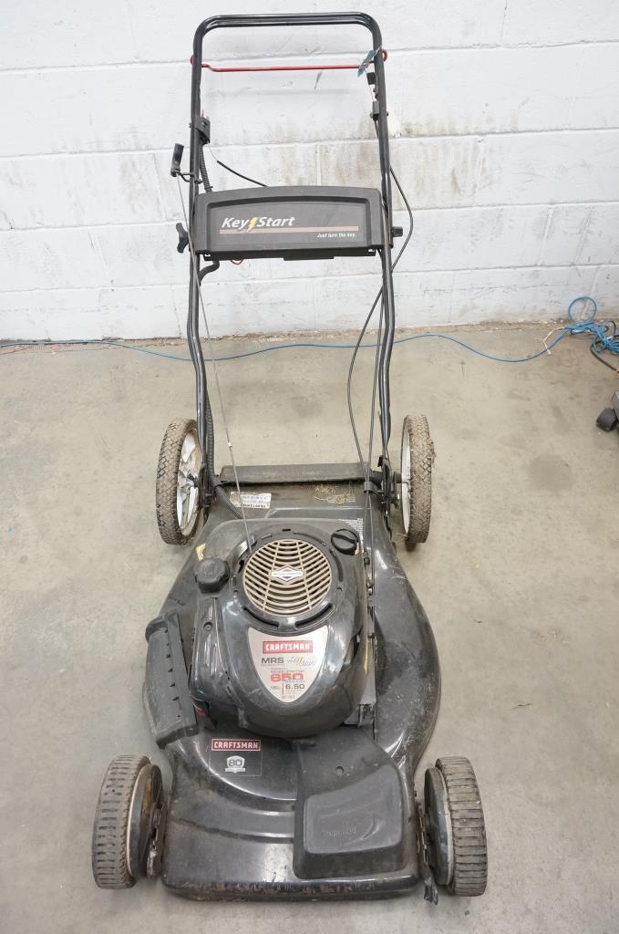 Craftsman MRS Key Start Lawn Mower | Property Room