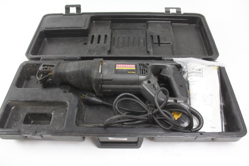Craftsman Professional 900 275030 Corded Reciprocating Saw