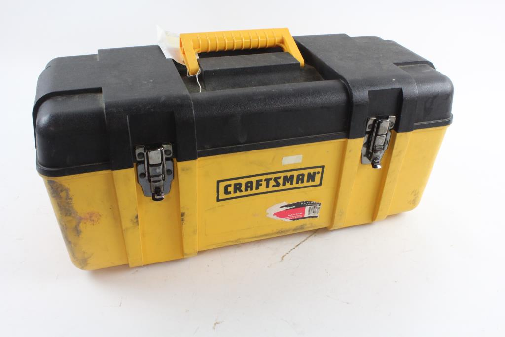 Craftsman Tool Box With Tools, 30+ Pieces | Property Room