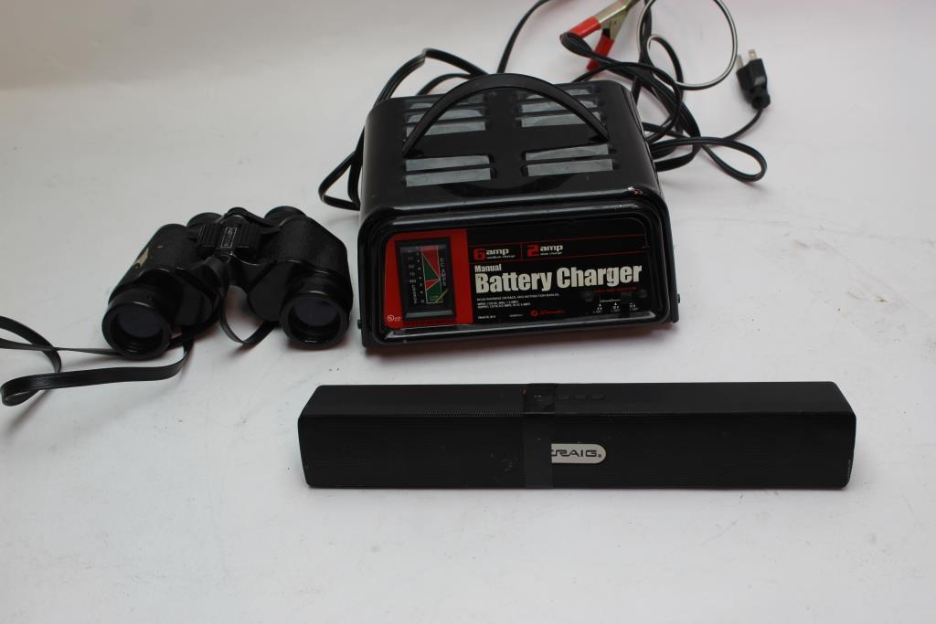 craig bluetooth portable speaker manual battery charger and more rh propertyroom com craig portable dvd player manual craig portable cd player manual