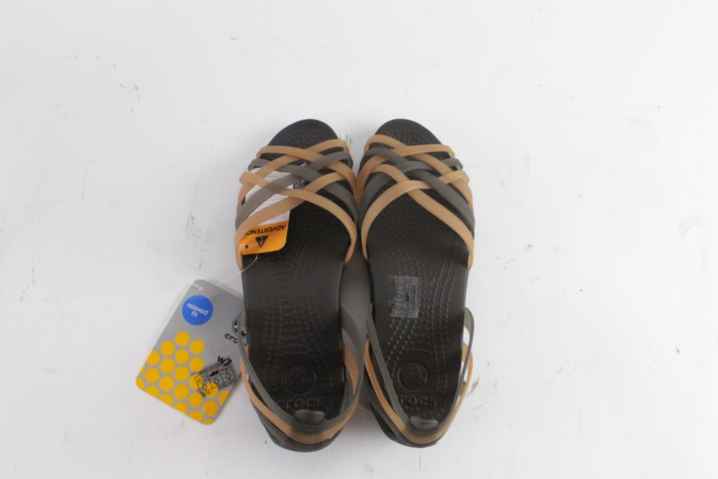 7c4469658c94 Crocs Huarache Flat Womens Shoes