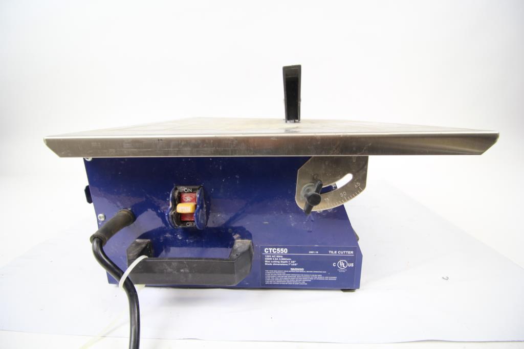 Ctc550 Tile Cutter