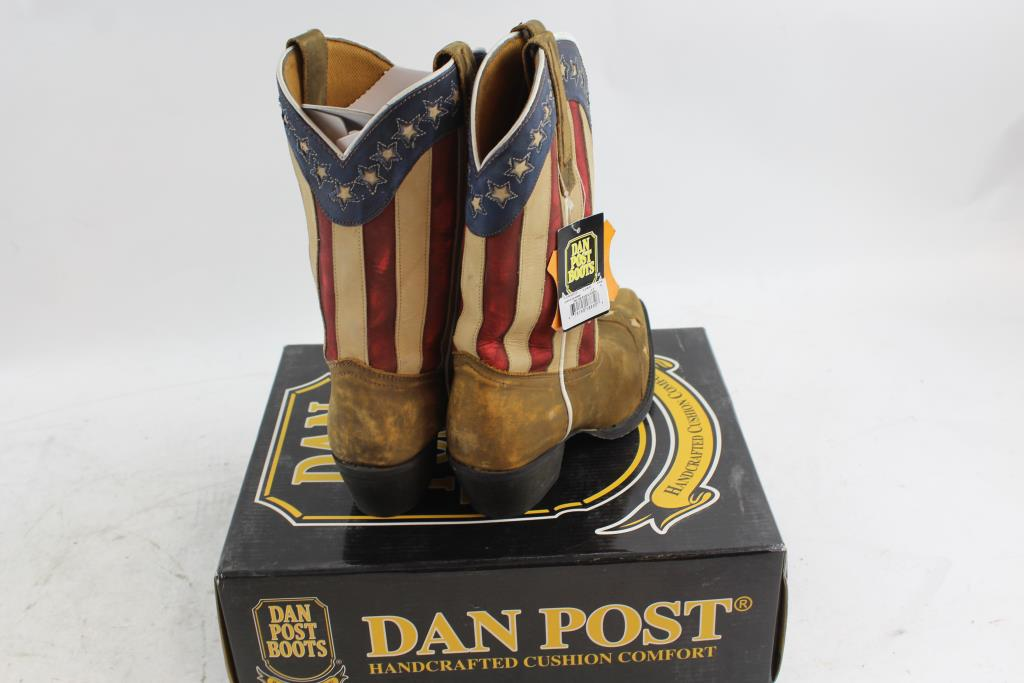 35b3b0297be Dan Post Boots Handcrafted Cushion Comfort Boots   Property Room