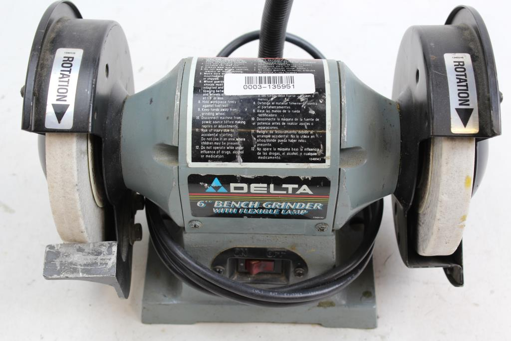 Delta 23 645 6 Quot Bench Grinder Property Room