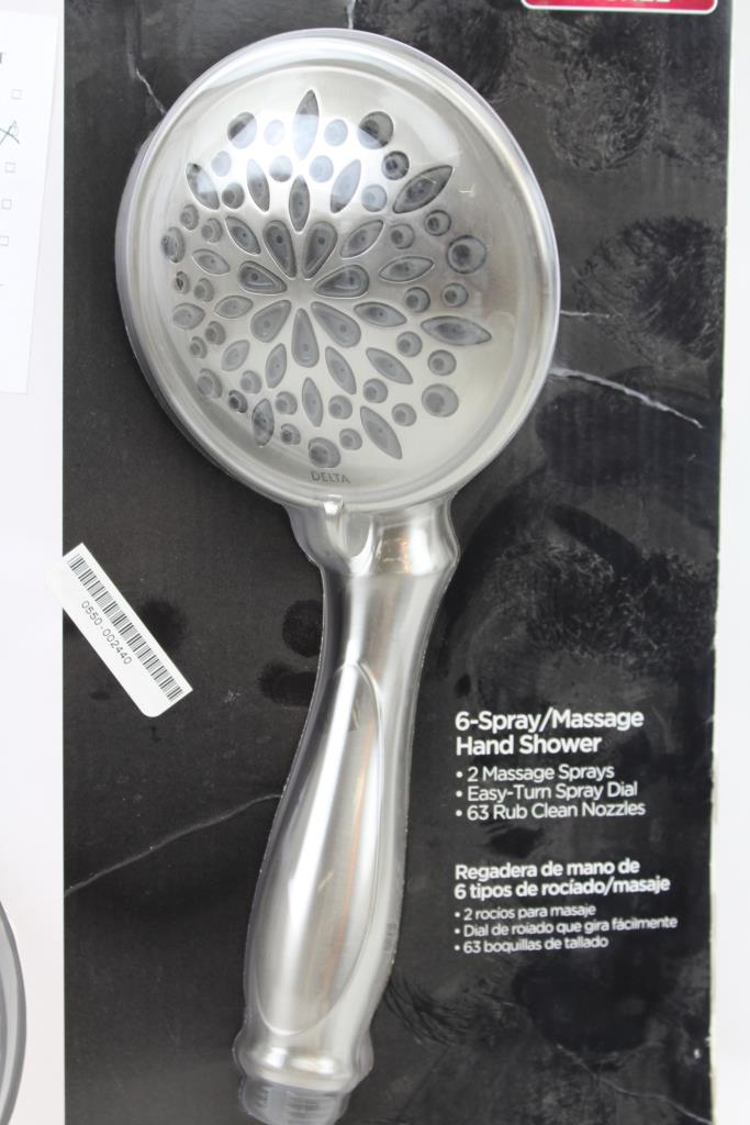 Delta Two Showers In One Hand Shower And Full Spray Shower Head