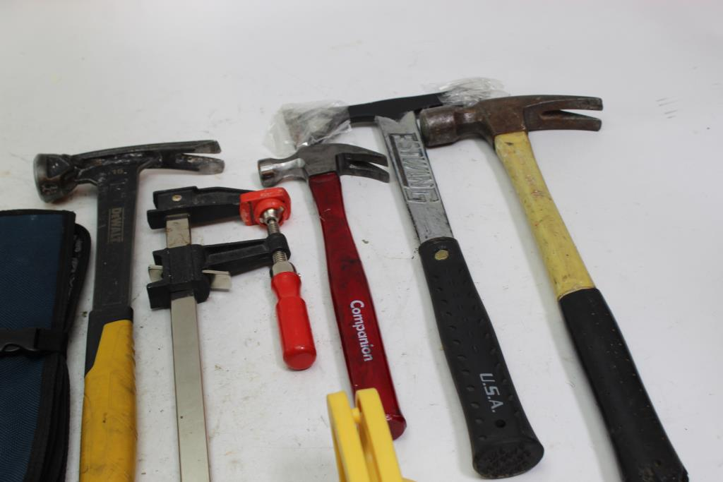 Dewalt 15 oz Hammer, Estwing Axe And More, 8+ Pieces | Property Room