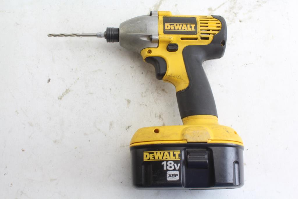 DEWALT DW056 18V IMPACT DRIVER FOR PC