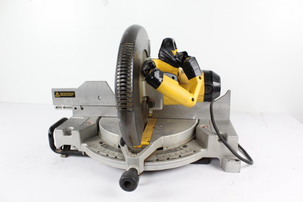 Dewalt 12 Compound Miter Saw Dw705 Parts Reviewmotors Co