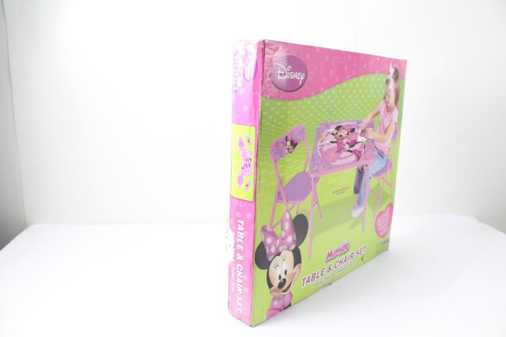 Disney 44716 Minnie Mouse Table u0026 Chair Set 3 Items  sc 1 st  PropertyRoom.com & Disney 44716 Minnie Mouse Table u0026 Chair Set 3 Items | Property Room