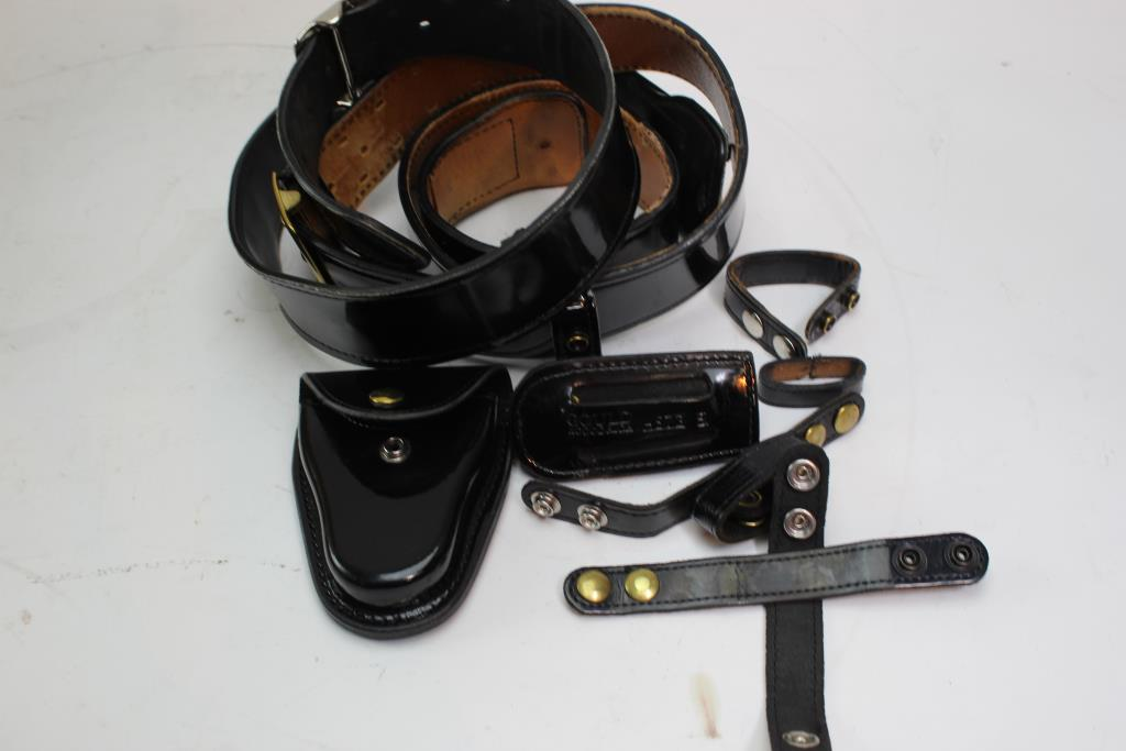 Don Hume And Gould & Goodrich Duty Belts, Holsters And More