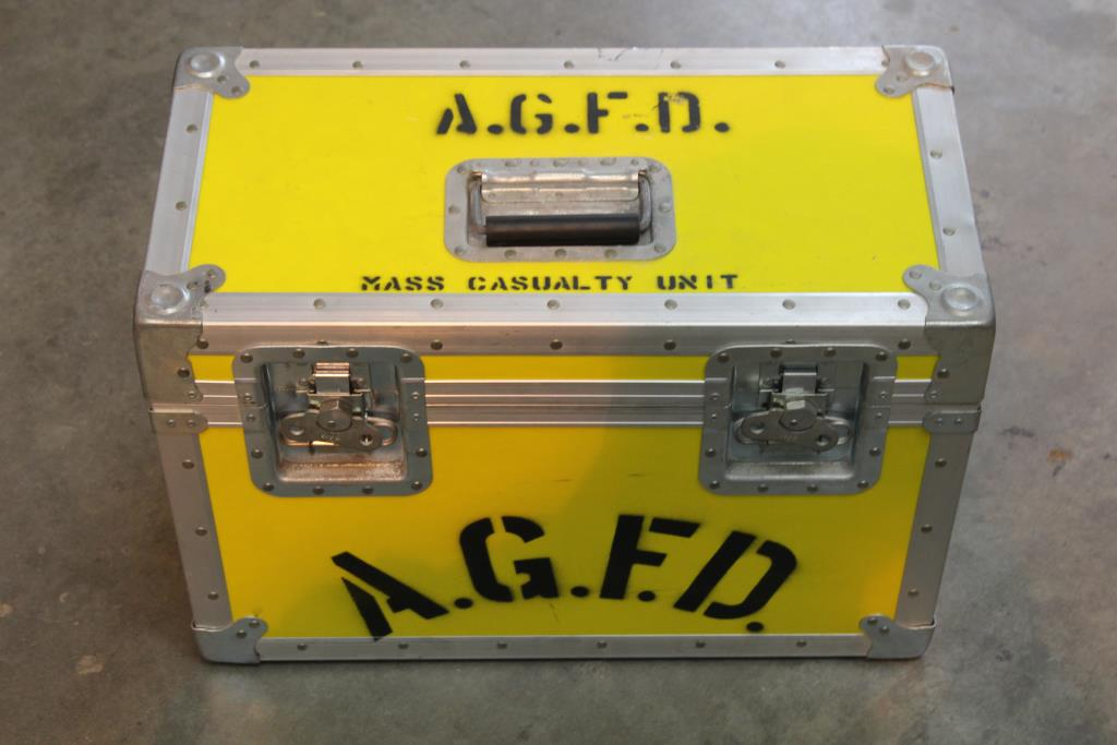 Dragon Slayers Fire Department Medical Supplies And Box | Property Room