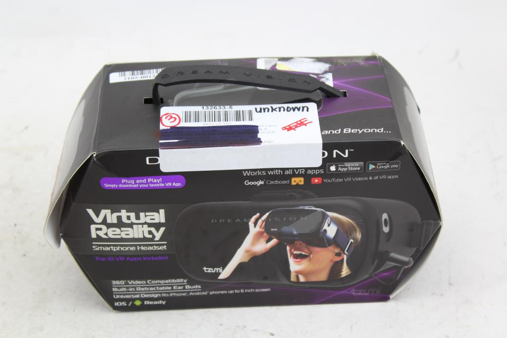 Dream Vision Virtual Reality Smartphone Headset Property Room