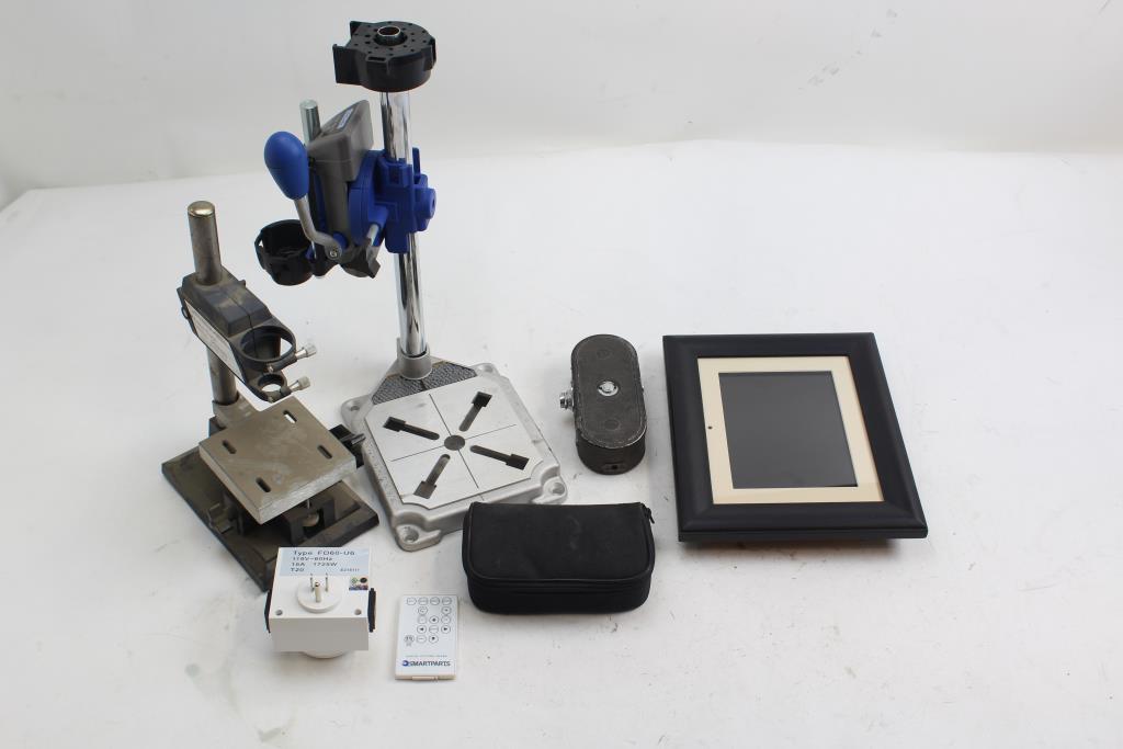 Dremel 210 220 Drill Press, Smartparts Photo Frame, Keystone K-8 ...