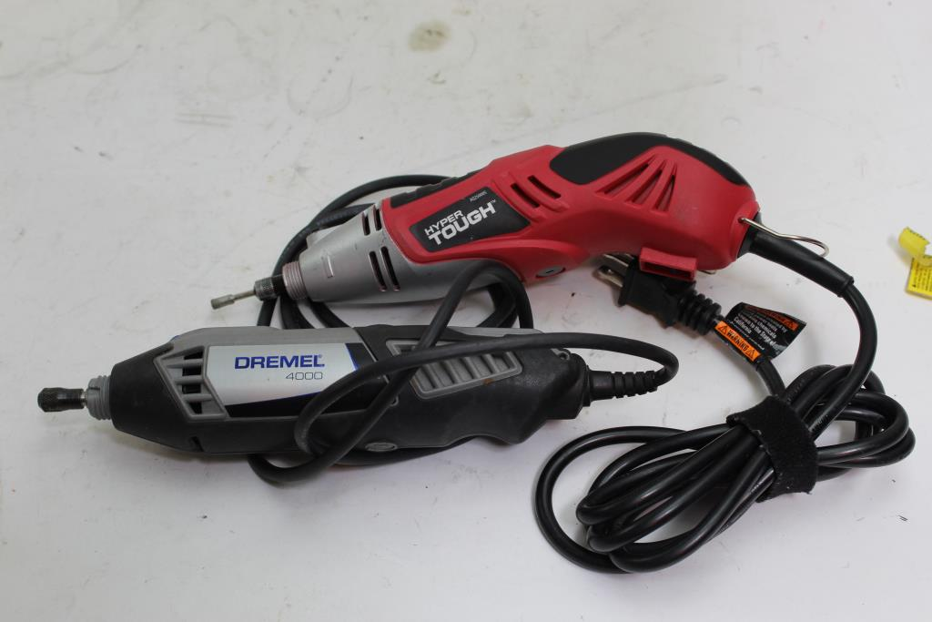 Dremel And Hyper Tough Rotary Tools, 2 Pieces | Property Room