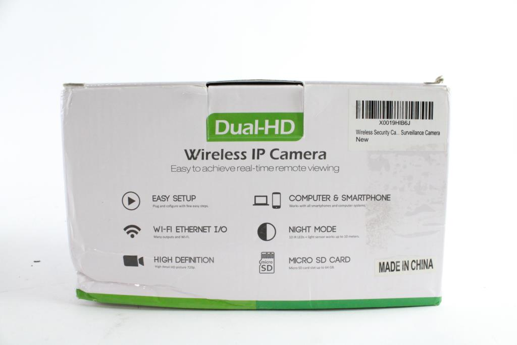 Dual-HD Wireless IP Camera | Property Room