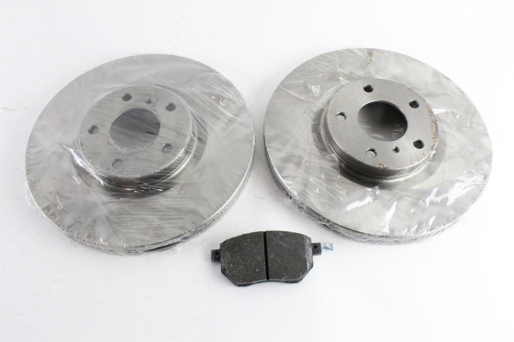 Duralast Brake Pads >> Duralast Brake Rotors And Brake Pads 3 Pieces Property Room