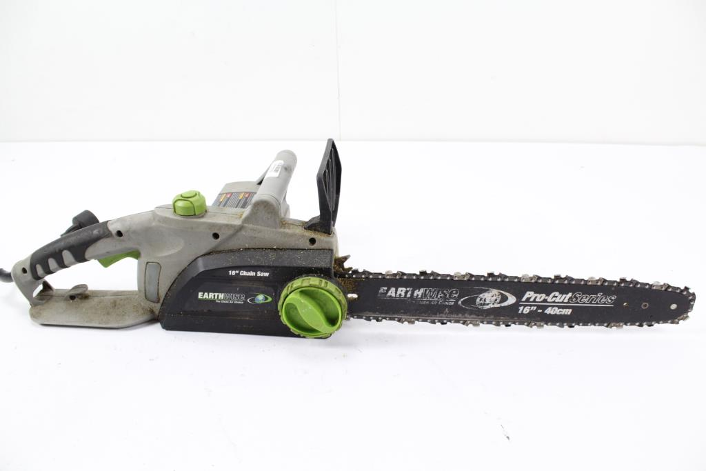 Earthwise cs30016 electric chain saw property room earthwise cs30016 electric chain saw greentooth Image collections