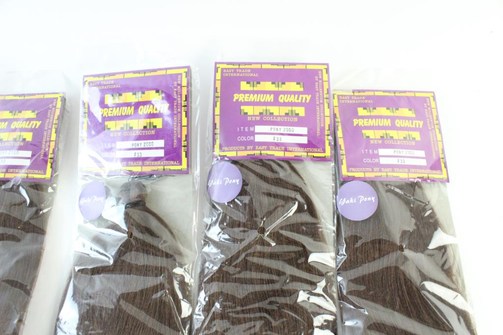 Easy Trade International Hair Extensions 6 Pieces Property Room