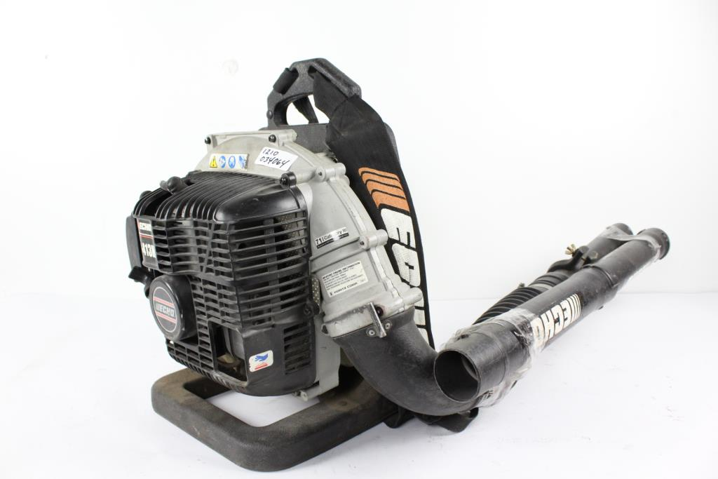 echo pb413h backpack blower property room