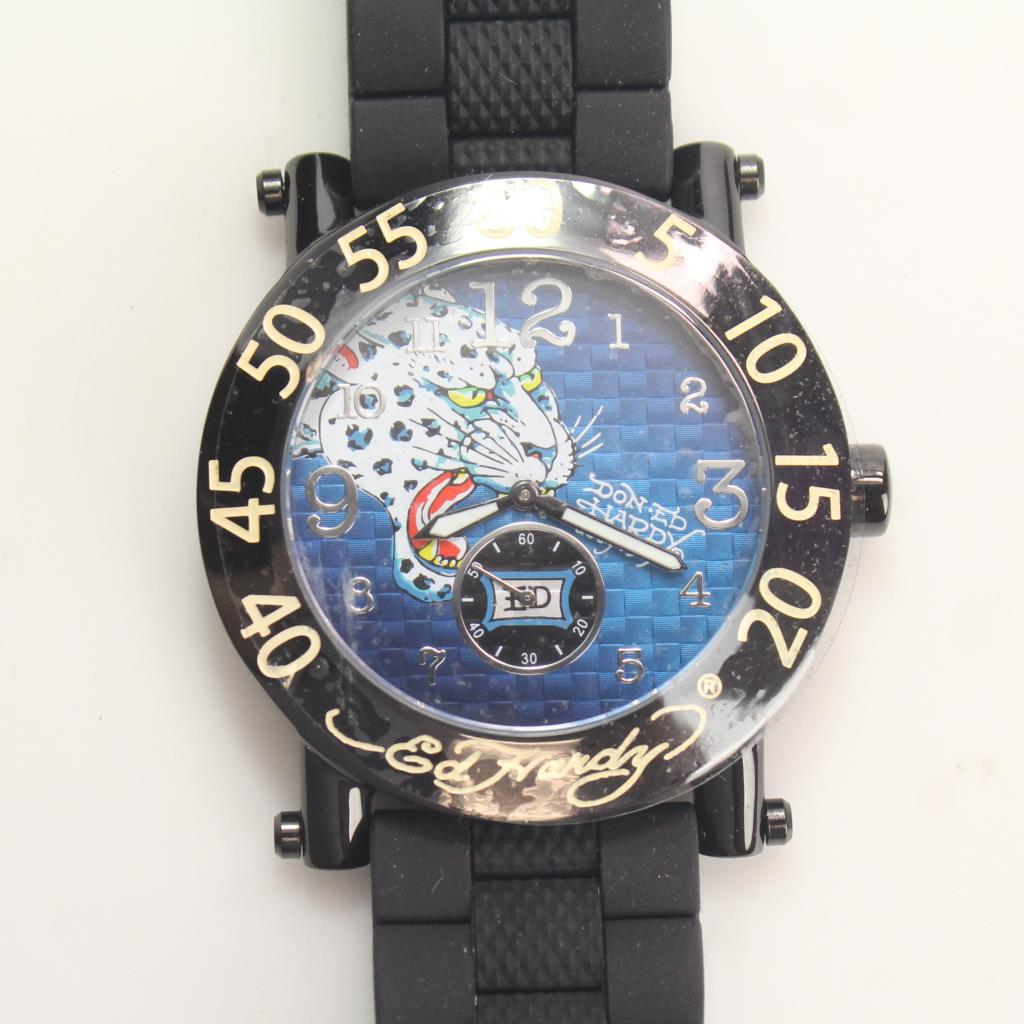 Image 1 of 6. Ed Hardy By Christian Audigier Watch 1a025213d3