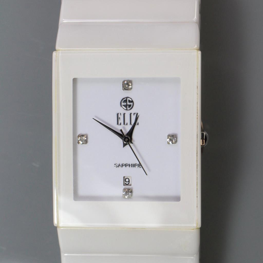 eliz mahal white ceramic watch