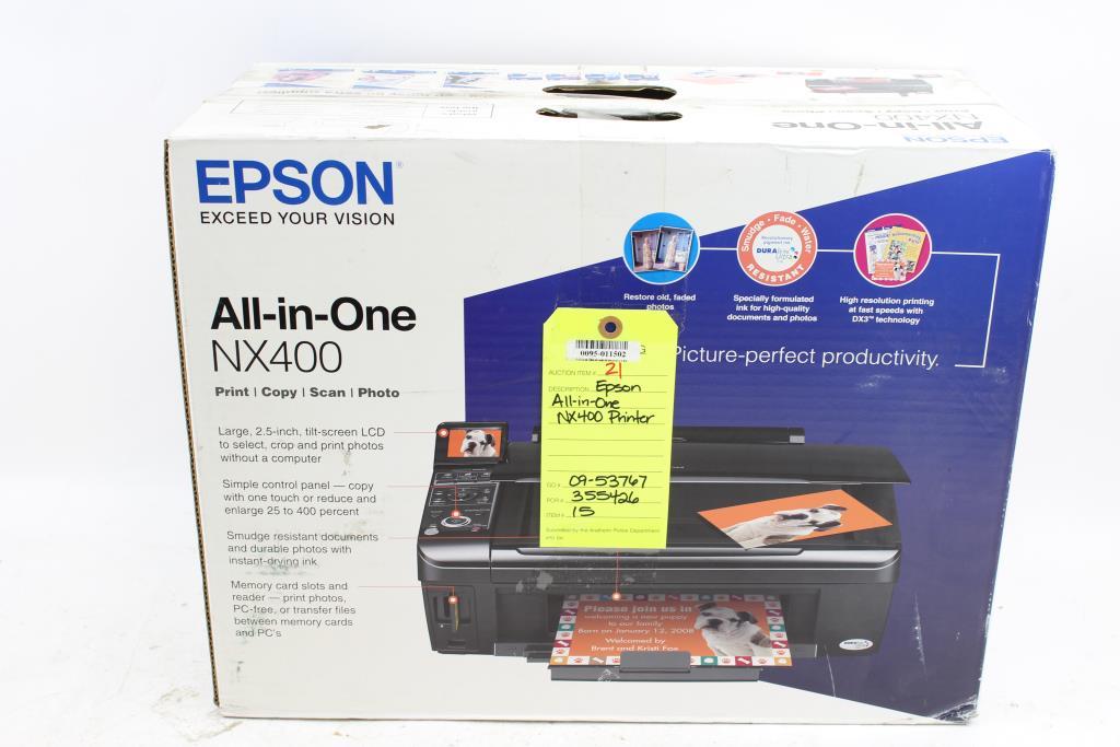 Epson Stylus NX400 Color Ink Jet