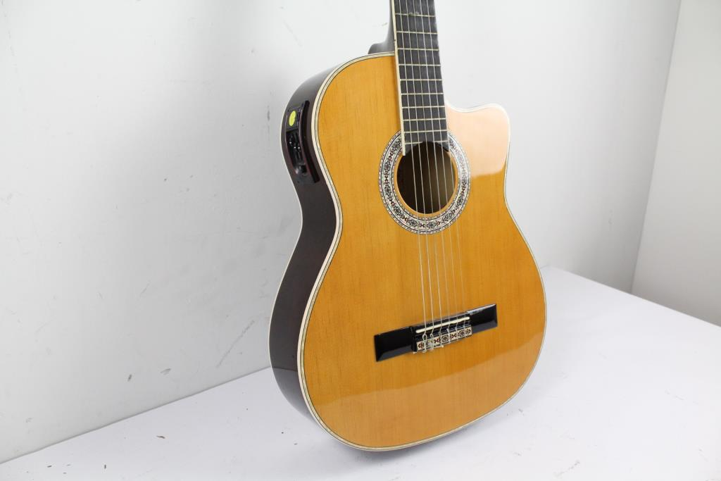 Esteban Granada G 100 Acoustic Electric Guitar Property Room