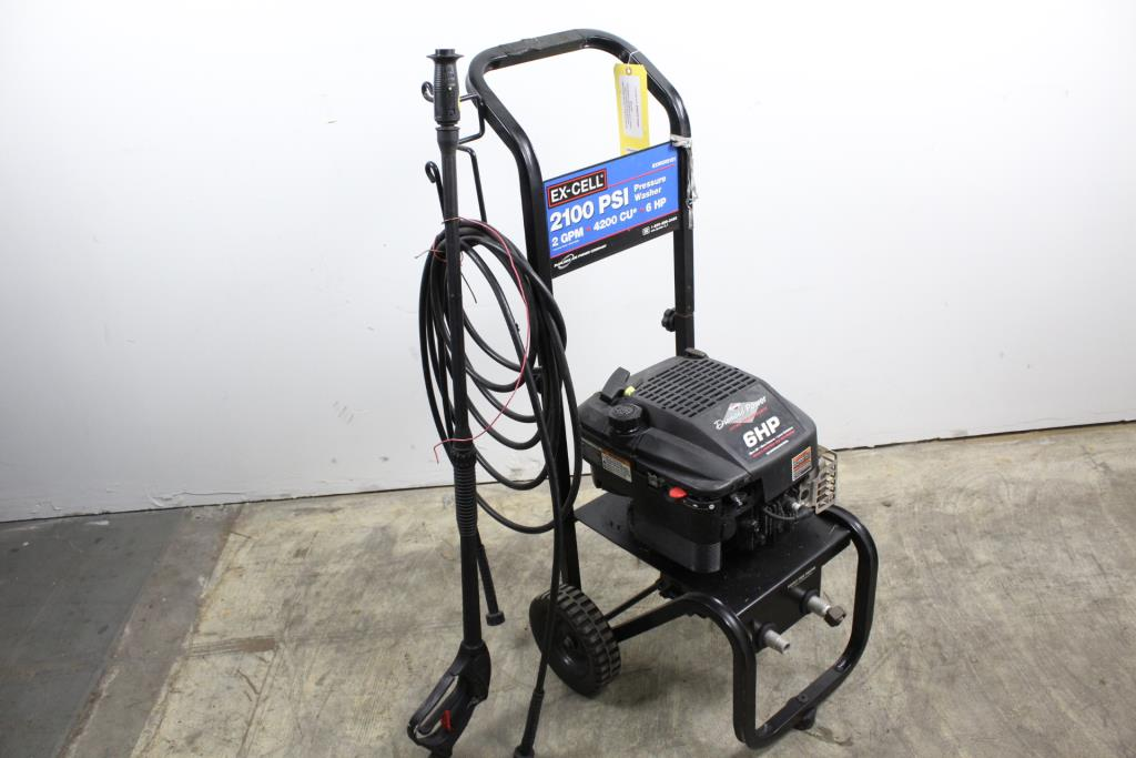 Ex-Cell EXWGV2121 Pressure Washer | Property Room