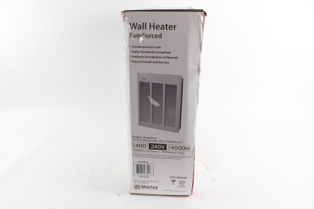 Fahrenheat Fzl4004f Electric Wall Heater Property Room