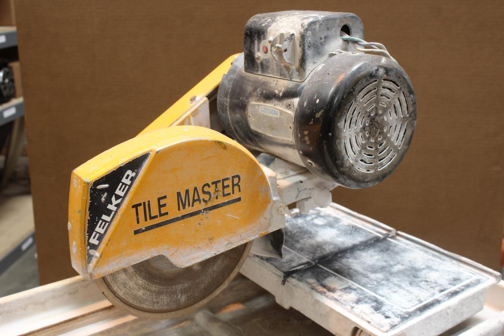 Felker Tile Master Tm 1ht 10 Quot Xl Tile Wet Tile Saw 173421