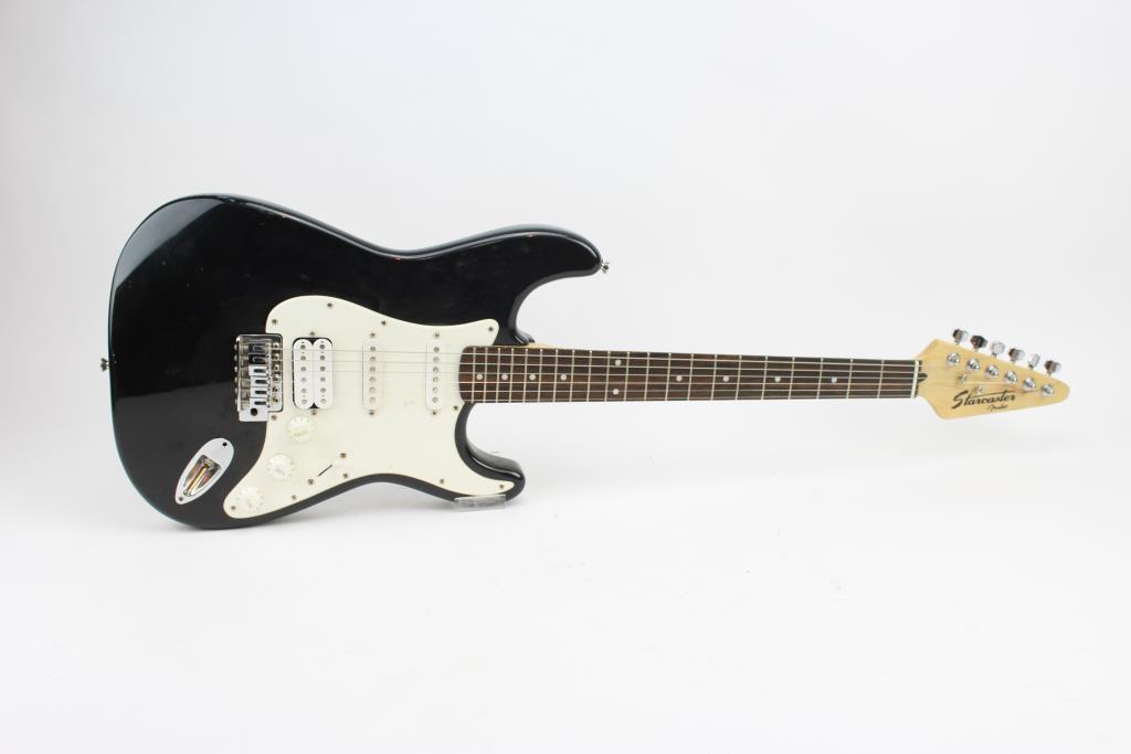 fender starcaster electric guitar property room. Black Bedroom Furniture Sets. Home Design Ideas