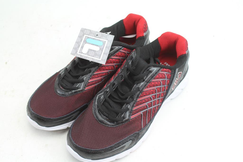 Fila Memory Foam Sneakers, Men's Size 10.5 Eiendomsrom  Property Room