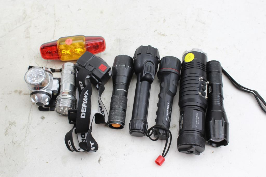 Flashlights: TrustFire, Atomic Beam, Bell Howell And More 9
