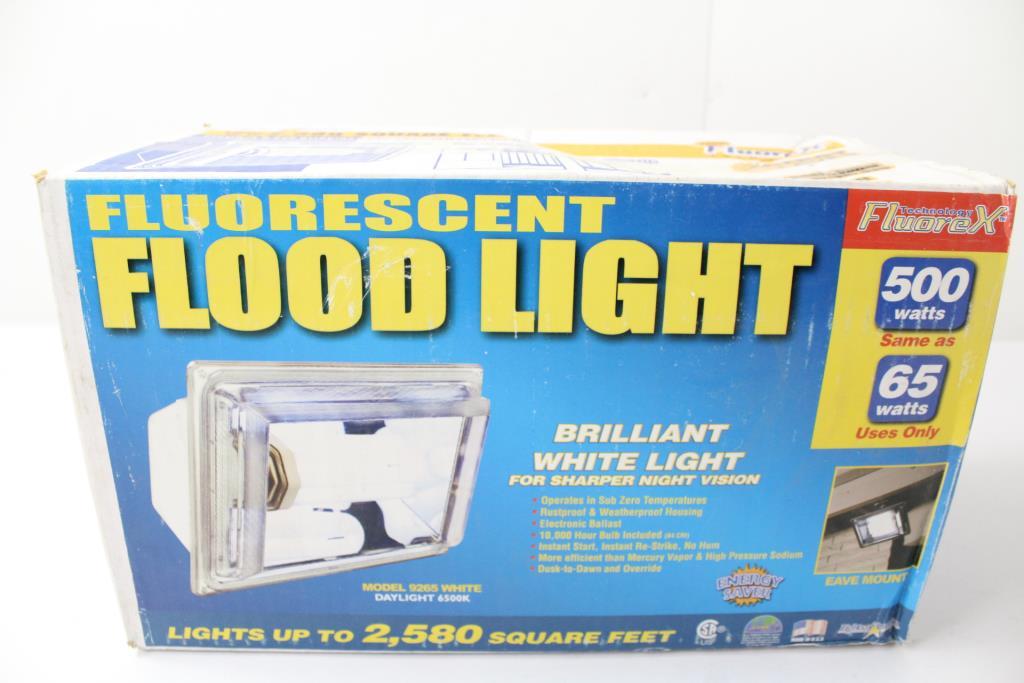 Fluorex 9265 Flood Light 3 Items
