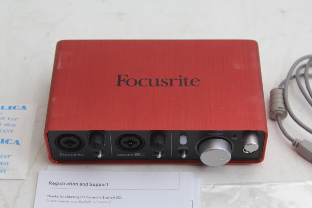 Focusrite Scarlett 2i2 Usb 2 0 Audio Interface | Property Room