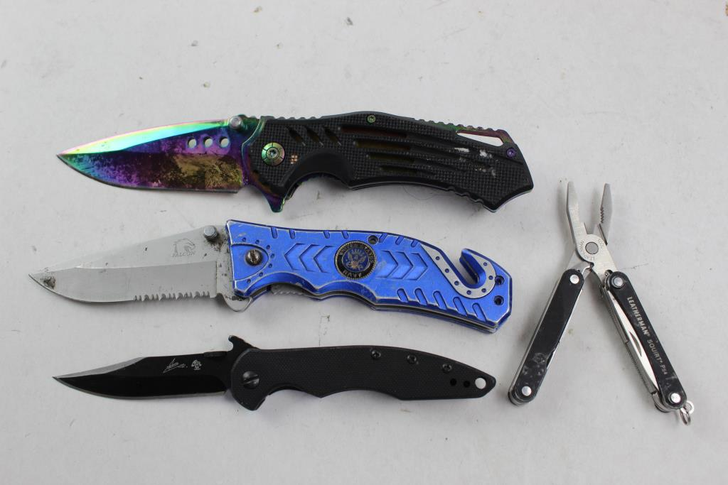Leatherman Squirt PS4 recension