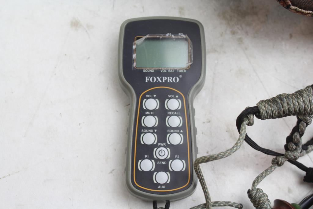 Foxpro Remote Control Tx9 Wildfire Firestorm Game Calls