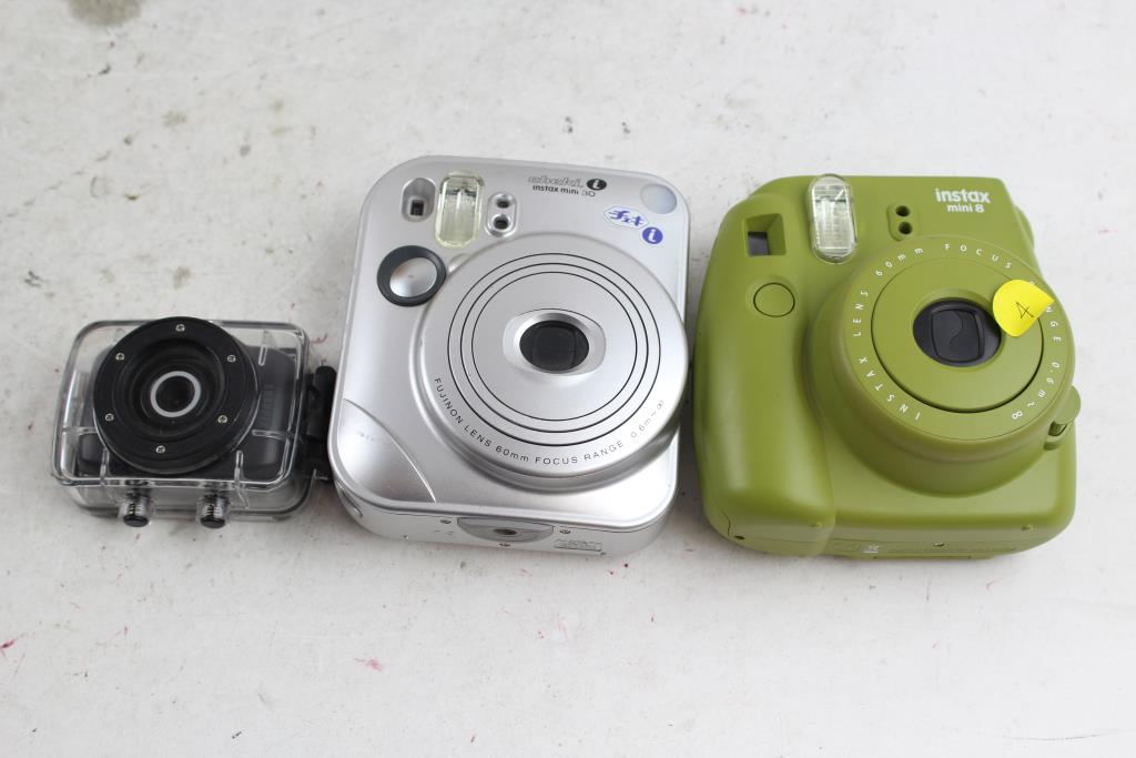 Fujifilm Instax Mini Cameras A Sharper Image Action Camera In Case