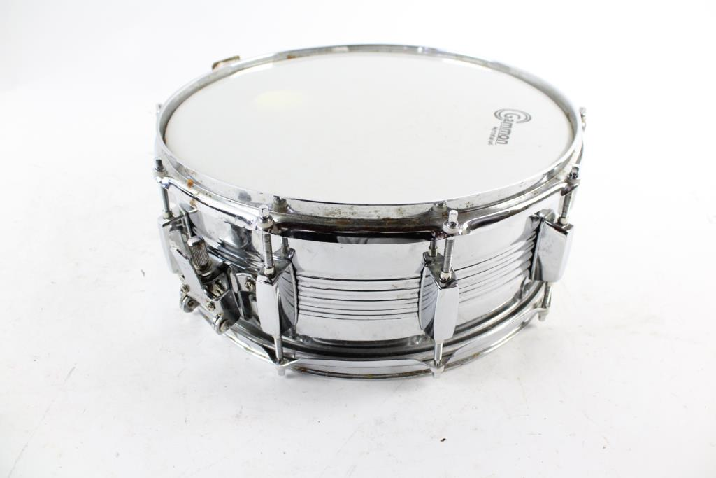 gammon percussion snare drum with case property room. Black Bedroom Furniture Sets. Home Design Ideas