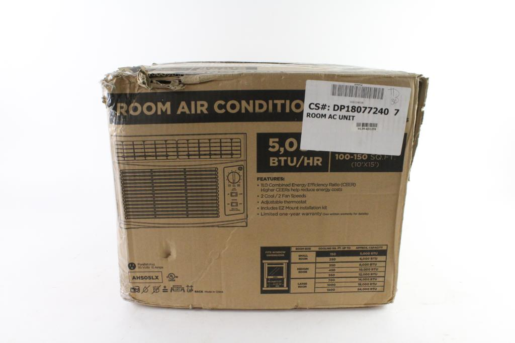 GE Air Conditioner | Property Room