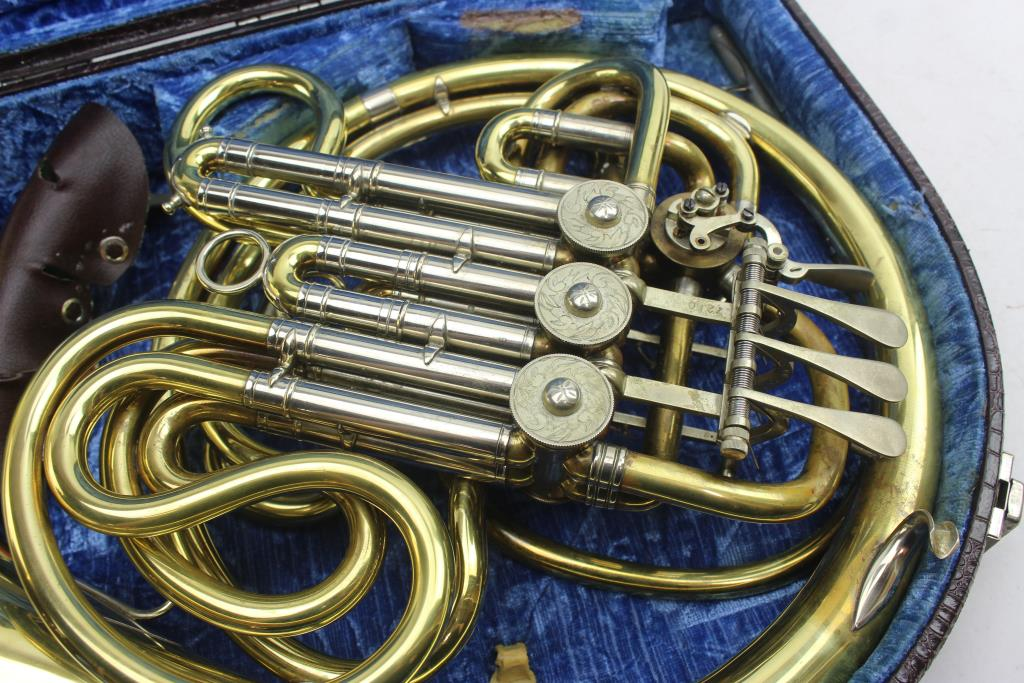 Car Audio Systems >> Gebr Alexander Mainz French Horn And Case | Property Room