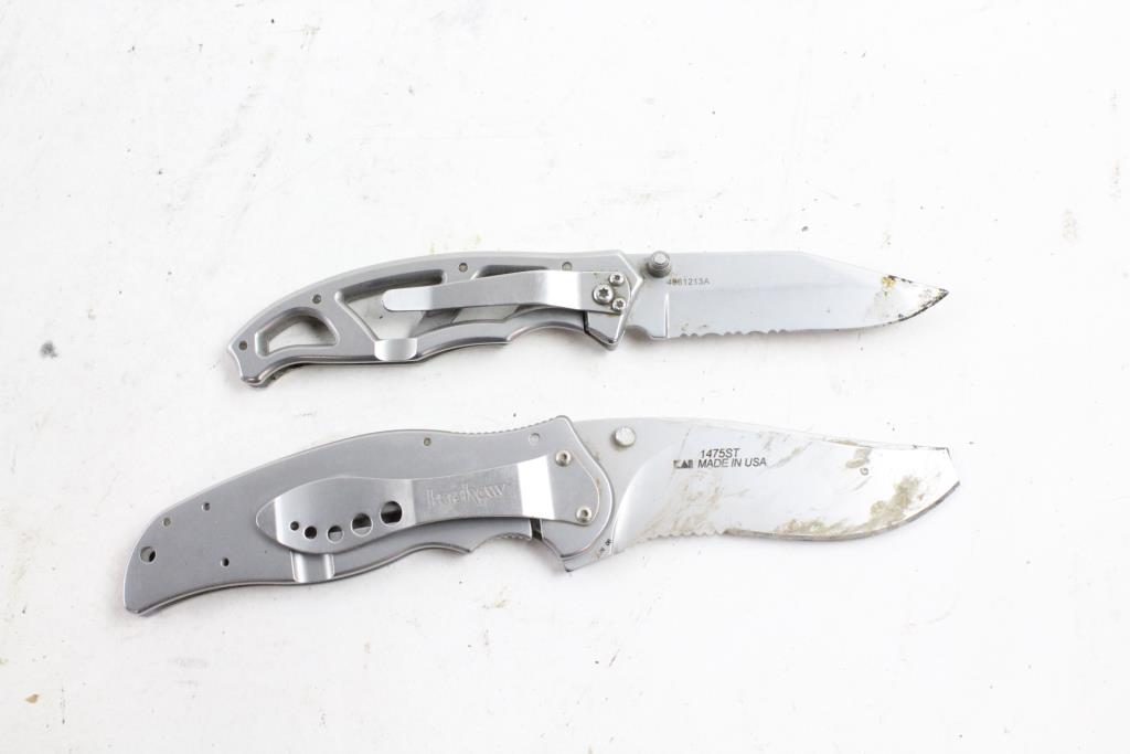 Gerber And Kershaw Knives, 2 Pieces | Property Room