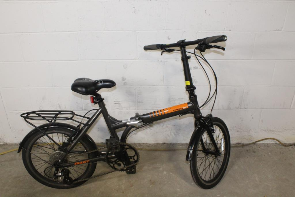 de739bbe753 Giant Expressway Folding Bicycle | Property Room