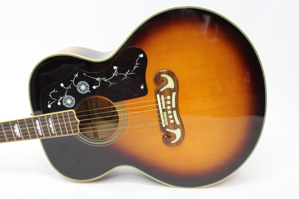 Gibson Epiphone Acoustic Guitar : gibson epiphone acoustic guitar property room ~ Vivirlamusica.com Haus und Dekorationen